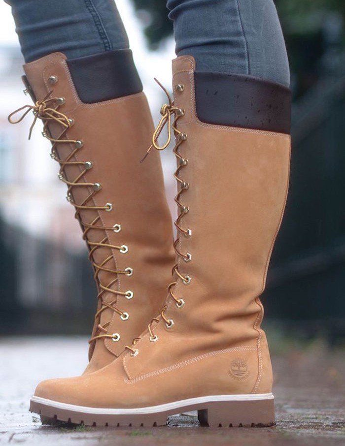 Magasin Outlet pour botte style timberland femme pas cher